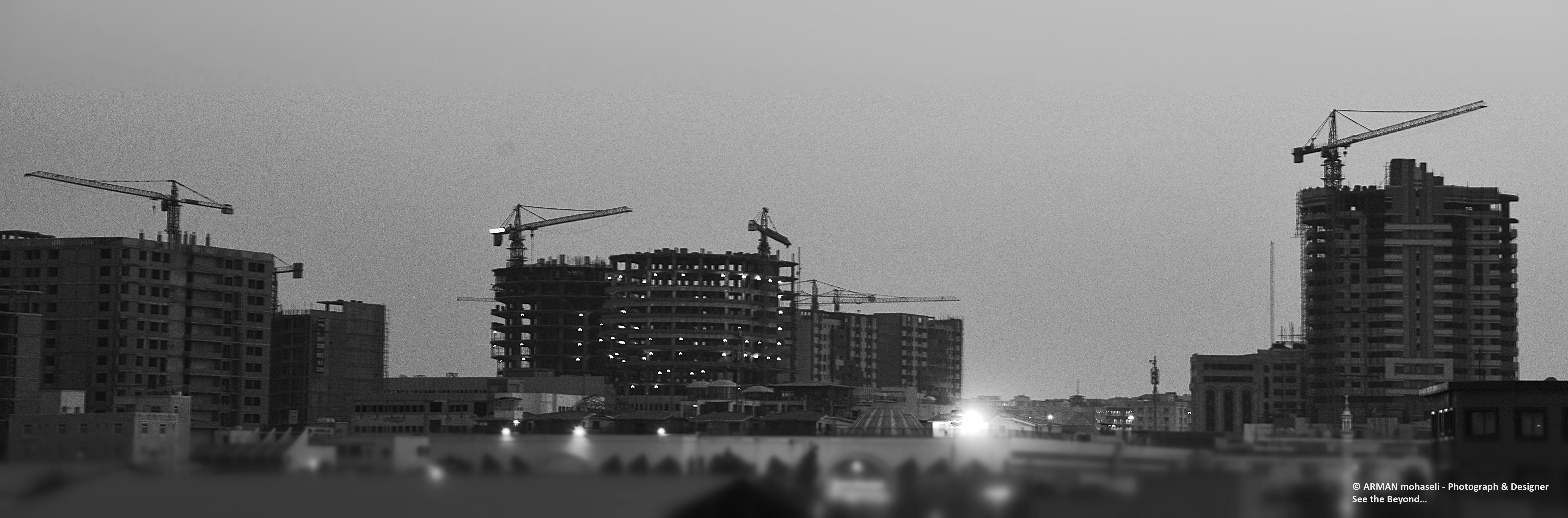 Città in bianco e nero...