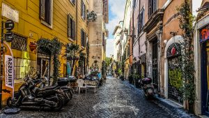 Una storia ambientata a Trastevere un quartiere romano quella di Paolo Morelli di Né in cielo e né in terra