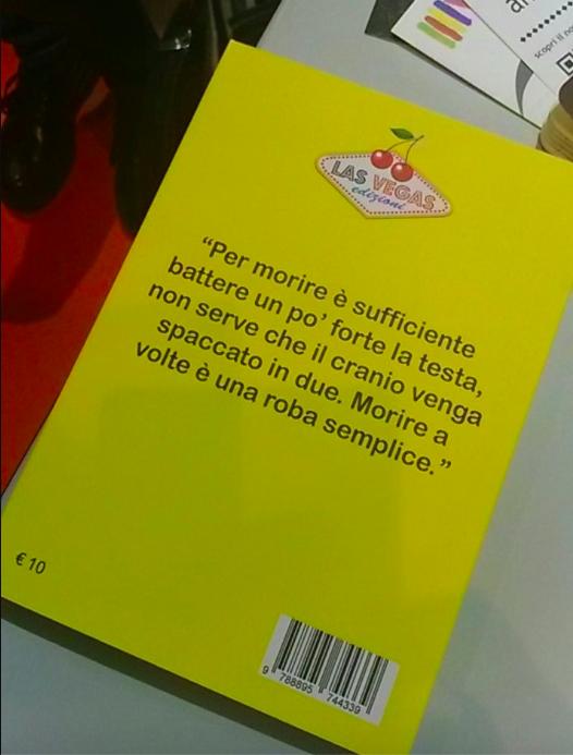 Dietro il delito, Cristina Brondoni, Las Vegas edizioni foto Simona Scravaglieri
