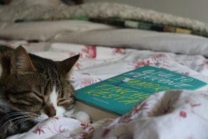 Oscar e il libro di Giulio Perrone, L'amore finché resta. Gatti e libri sempre un'immagine bellissima